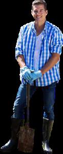 serviços de jardinagem e plantio de grama